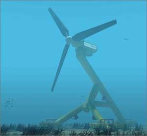 turbina mareomotriz Hammerfest