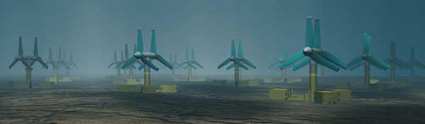 turbinas mareomotrices