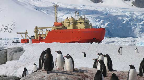 barco de investigación oceanográfica Lawrence M. Gould