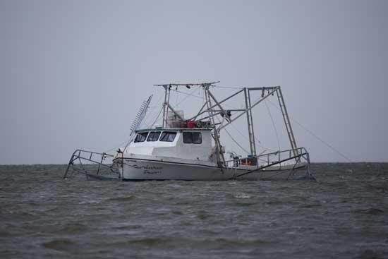 barco pesquero de Louisiana, EE.UU.