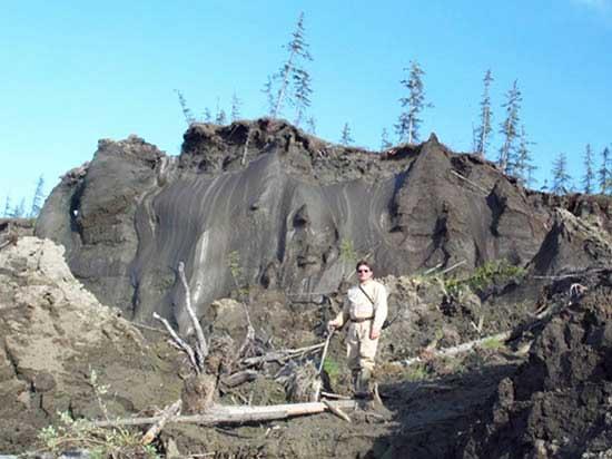 deshielo del permafrost