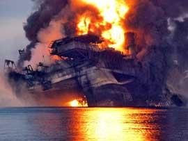 explosión Deepwater Horizon, 20-04-2010