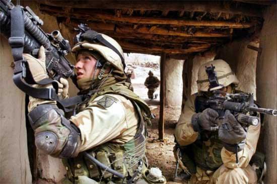 fuerzas especiales del ejercito de EE.UU.