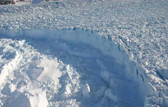 glaciar Helheim, Groenlandia