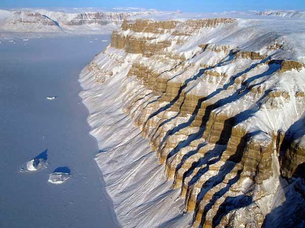 glaciares Groenladia 3D