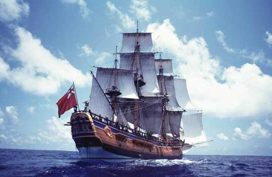 HMB Endeavour, velero réplica de Aaustralia
