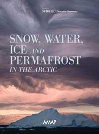 informe sobre el hielo, el agua y el permafrost en el ártico