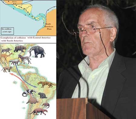 istmo de Panamá, conferencia de Anthony G. Coates