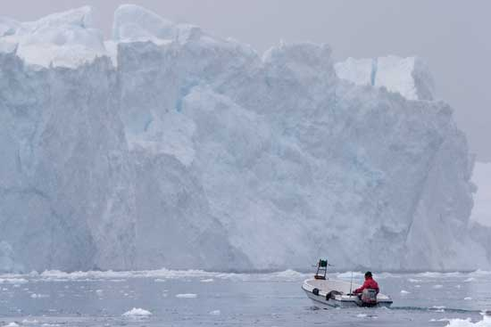 línea de pesca Groenlandia