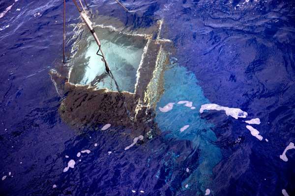 Expedición Malaspina, estudio sobre la transparencia del agua en el Pacífico Sur