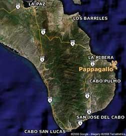 mapa de Cabo Pulmo