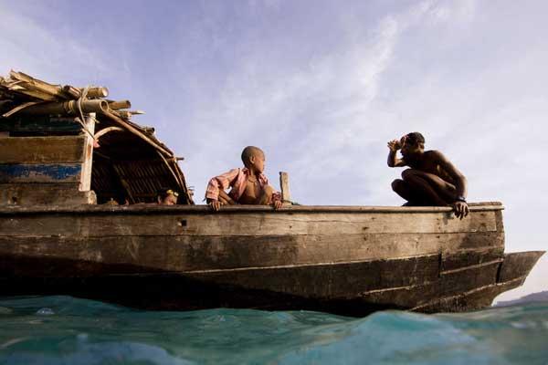 Kabang moken navegando