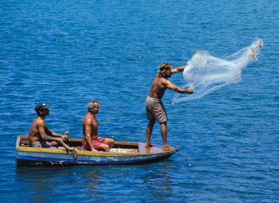 pesca tradicional en Brasil