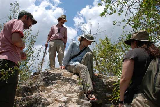 pirámide Maya de Vista Alegre