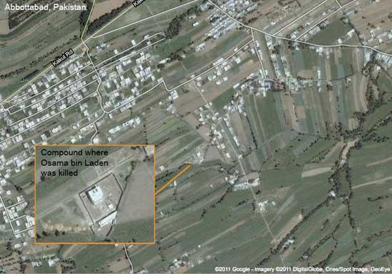 refugio de Bin Laden en Abbottabad, Pakistán