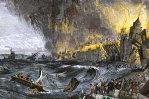 tsunami Lisboa de 1755