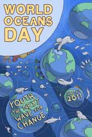 cartel Día Mundial de los Océanos 2011
