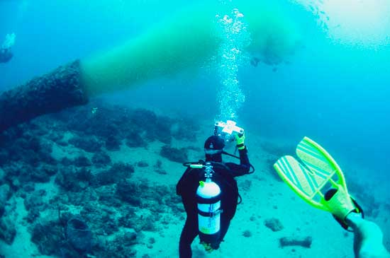 emisor submarino de aguas residuales