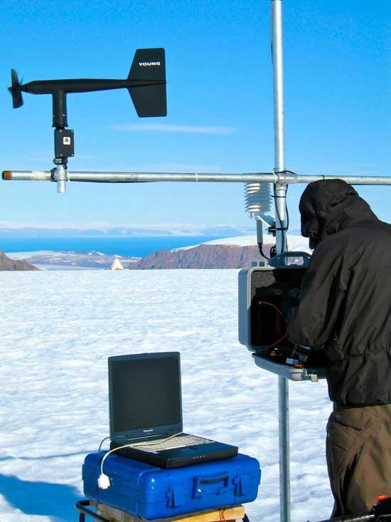 estación de investigación en el Ártico de Canadá