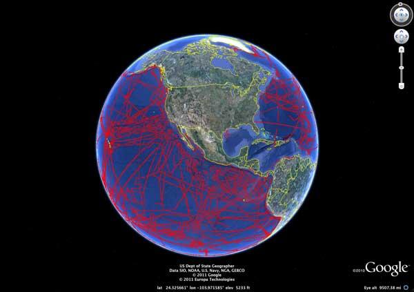 nuevo mapa submarino de Google