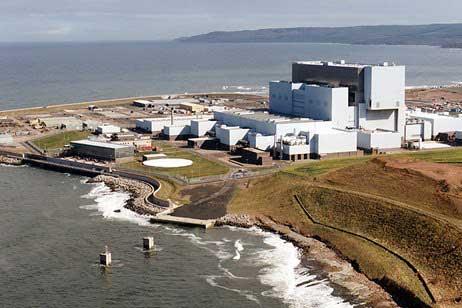 planta nuclear EDF Energy's Torness, Escocia
