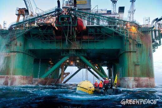 plataforma petrolera Leiv Eiriksson