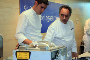 Ferran Adria, congreso lo mejor de la gastronomía
