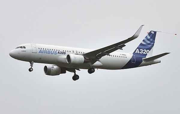 airbus A320 con sharklets aleta de tiburón