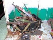 armas piratas capturadas