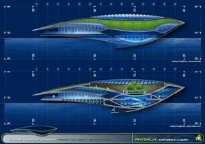 arquitectura barco Physalia