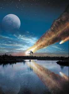 asteroide, impacto en Chesapeake