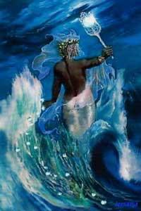diosa Yemanyá negra