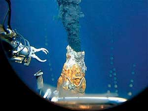 fumarola hidrotermal marina