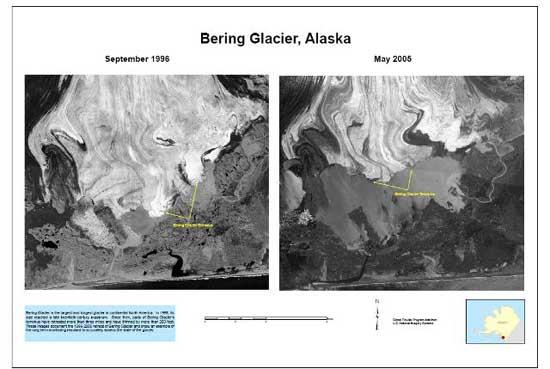 glaciar Bering
