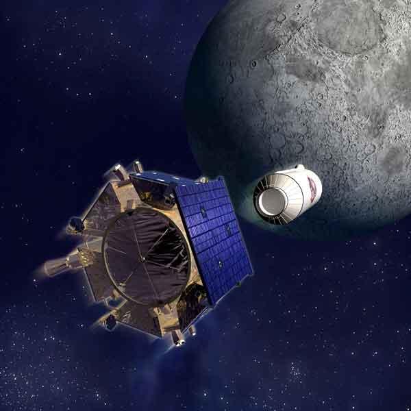 lcross impacto sobre la Luna buscando agua