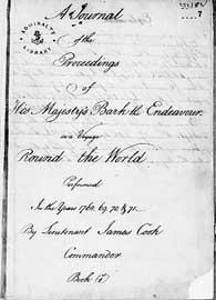 libro master de navegación de James Cook