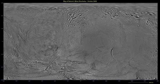 mapa de Encelado