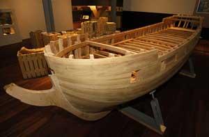 maqueta Beagle, Museo do Mar, Vigo