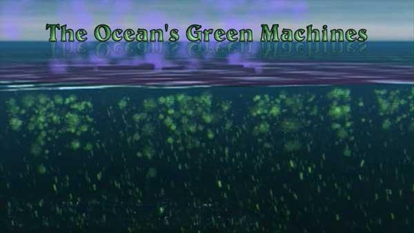 Maquinaria verde de los océanos