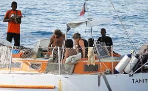 piratas en Somalia, secuestro del Tanit