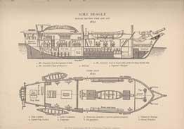 planos del Beagle, sección