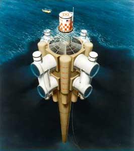 diseño  de una planta OTEC en el océano