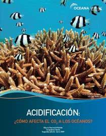 portada informe acidificación océanos