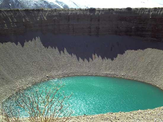 poza de agua en Argentina