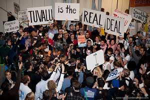 protesta islas Tuvalu, Copenhague