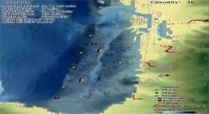 Simulación tsunami