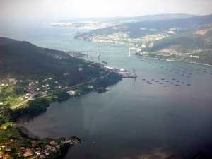 Ria de Vigo Galicia
