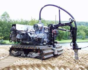 robot minero submarin