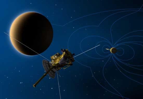 Saturno, Titán y Cassini