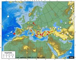 Terremotos euromed